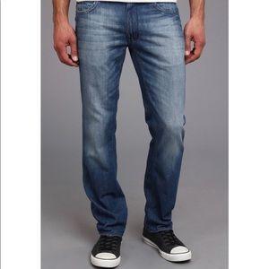 🔥30%OFF🔥EUC DKNY soho relaxed men's jeans 38X30